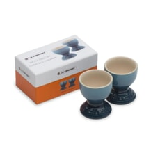 Le Creuset Set of 2 Egg Cups Marine