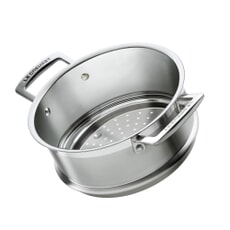 Le Creuset 20cm Stainless Steel Steamer (No Handles)