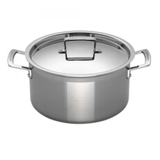 Le Creuset 3 Ply Stainless Steel 24cm Deep Casserole