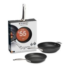 Le Creuset TNS 2 Piece Frying Pan Set