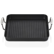 Le Creuset TNS Ribbed Square Grill 28cm With 2 Handles
