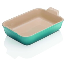 Le Creuset 32cm Deep Rectangular Baking Dish Teal