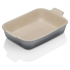 Le Creuset 32cm Deep Rectangular Baking Dish Flint