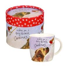 Alex Clark - Festive Friends Mug In Hatbox