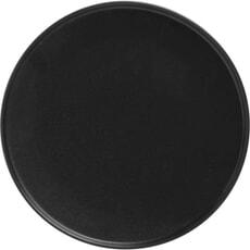 Maxwell and Williams Caviar High Rim 26.5cm Plate Black