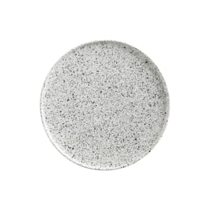 Maxwell and Williams Caviar Speckle 24.5cm High Rim Plate
