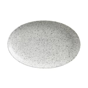 Maxwell and Williams Caviar Speckle 25cm Oval Plate