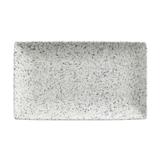 Maxwell and Williams Caviar Speckle 27.5cm Rectangle Platter