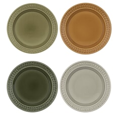 Botanic Garden Harmony Dinner Plates Set Of 4