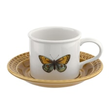 Botanic Garden Harmony Breakfast Cup And Saucer Amber