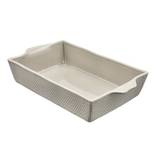 Murmur Stoneware Large Baking Dish Grey
