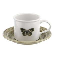 Botanic Garden Harmony Breakfast Cup And Saucer Moss Green
