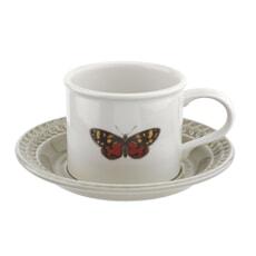 Botanic Garden Harmony Breakfast Cup And Saucer Stone
