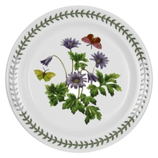 Portmeirion Botanic Garden - Bread And Butter Plate Windflower