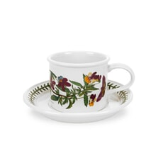 Portmeirion Botanic Garden - Breakfast Cup And Saucer (Drum) Set 6