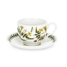 Portmeirion Botanic Garden - Breakfast Cup and Scr (Traditional) Set Of 6