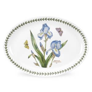 Portmeirion Botanic Garden - Oval Plates Set Of 6