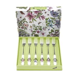 Portmeirion Botanic Garden - Pastry Fork Set 6