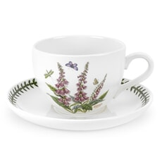 Portmeirion Botanic Garden - Jumbo Cup and Saucer Set Of 6