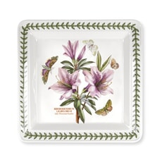 Portmeirion Botanic Garden - Square Dinner Plates Set Of 6