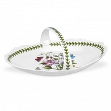 Portmeirion Botanic Garden - Low Oval Bread Basket