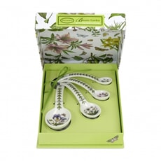 Portmeirion Botanic Garden - Measuring Spoons Set Of 4
