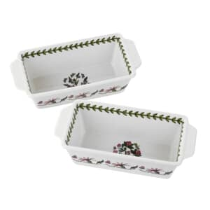 Portmeirion Botanic Garden - Rectangular Bakers Set Of 2