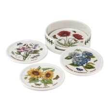 Portmeirion Botanic Garden - Ceramic Coasters With Holder