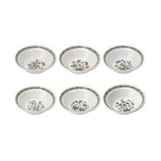 Portmeirion Botanic Garden - Oatmeal Bowl Set Of 6