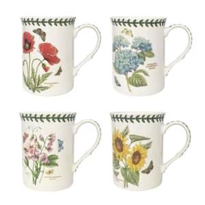 Portmeirion Botanic Garden - Set Of 4 Mugs