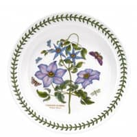 Portmeirion Botanic Garden - 10inch Dinner Plate Clematis Motif