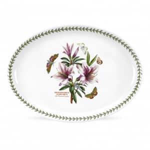 Portmeirion Botanic Garden - Oval Serving Dish With Azalea Motif