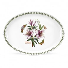 Portmeirion Botanic Garden - Oval Serving Dish With Azalea Motif