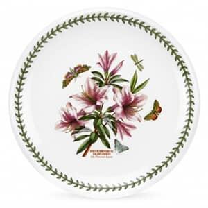 Portmeirion Botanic Garden - Round Platter With Azalea Motif