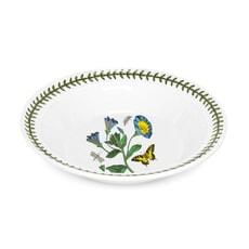 Portmeirion Botanic Garden - Soup Plate Convolvulus Motif