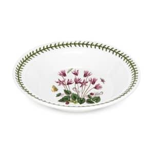 Portmeirion Botanic Garden - Soup Plate Cyclamen Motif