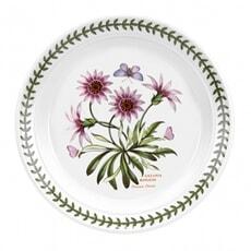 Portmeirion Botanic Garden - 8inch Dessert Plate Treasure Flower Motif