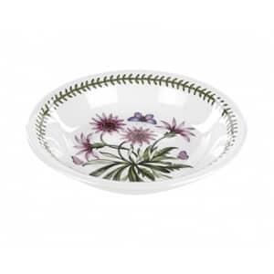 Portmeirion Botanic Garden - Pasta Bowl With Treasure Flower Motif