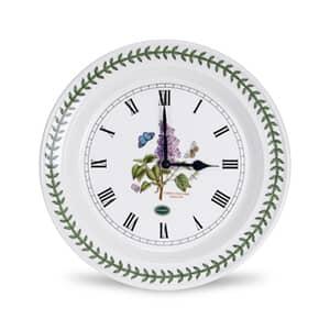 Portmeirion Botanic Garden - Wall Clock Garden Lilac