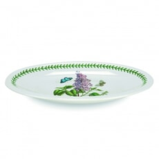 Portmeirion Botanic Garden - Medium Oval Platter With Lilac Motif