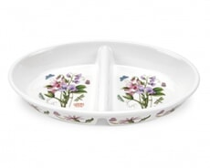 Portmeirion Botanic Garden - Divided Dish With Sweet Pea Motif