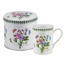 Portmeirion Botanic Garden - Mug And Tin Set Sweet Pea