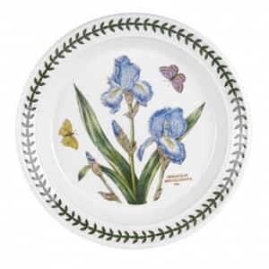 Portmeirion Botanic Garden - 8inch Dessert Plate Iris Motif