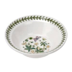 Portmeirion Botanic Garden - Oatmeal Bowl Cinguefoil Motif