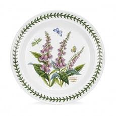 Portmeirion Botanic Garden - 10inch Dinner Plate Foxglove Motif