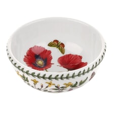 Portmeirion Botanic Garden - 5.5inch Fruit/Salad Bowl Poppy