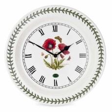 Portmeirion Botanic Garden - 10inch Wall Clock Poppy