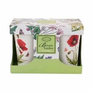 Portmeirion Botanic Garden - Mugs Set 2 Poppy