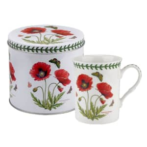 Portmeirion Botanic Garden - Mug And Tin Set Poppy