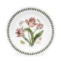 Portmeirion Botanic Garden - 10inch Dinner Plate Parrot Tulip